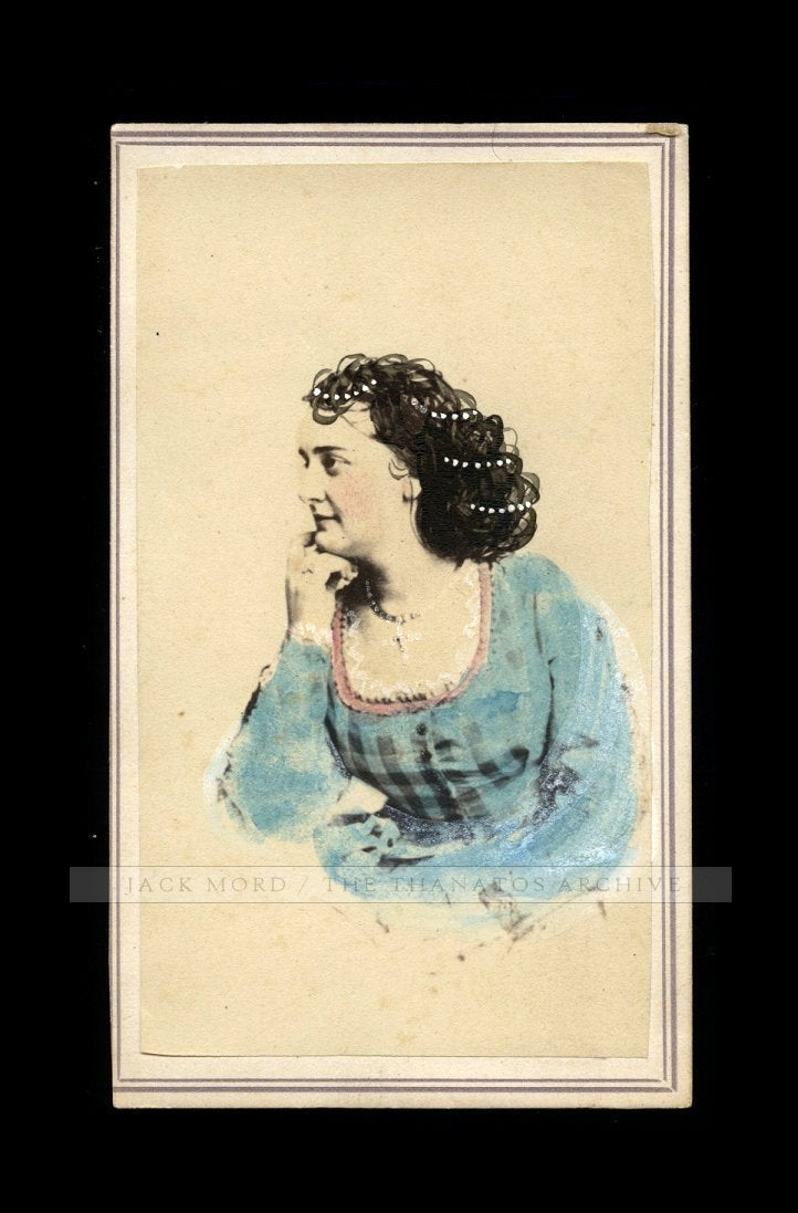 Rare / Unpublished? CDV Photo Actress HELEN WESTERN Girlfriend John Wilkes Booth