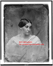 Load image into Gallery viewer, Large Daguerreotype in Velvet Case ~ Woman with Book ~ Cincinnati Ohio ~ Poet Phoebe Cary?