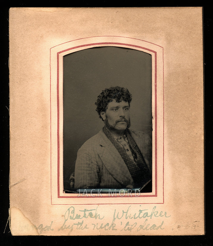 Antique Tintype Photo - Butch