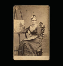Load image into Gallery viewer, Antique Occupational Photo Female Landscape Artist Painter Concord New Hampshire