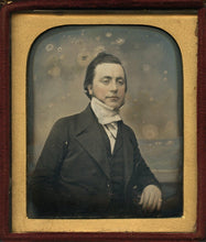 Load image into Gallery viewer, Lot of 3 Tinted Daguerreotypes Photos - Antique 1/6 Plates, Color 1800s