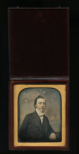Lot of 3 Tinted Daguerreotypes Photos - Antique 1/6 Plates, Color 1800s