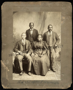 Historic African American History Officers of Tobacco Trade Union by Rees Virginia / LOC