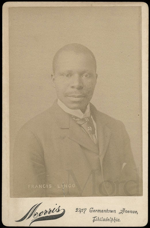 Rare Photo of Francis Lingo // Black Man Accused of Murder // Crime Sideshow Int