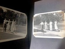 Load image into Gallery viewer, 3 quality antique or vintage snapshot albums with 451 photos & postcards