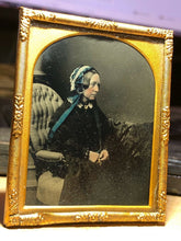 Load image into Gallery viewer, Tinted 1850s Ambrotype by Robert Armstrong Edinburgh Scotland Photographer