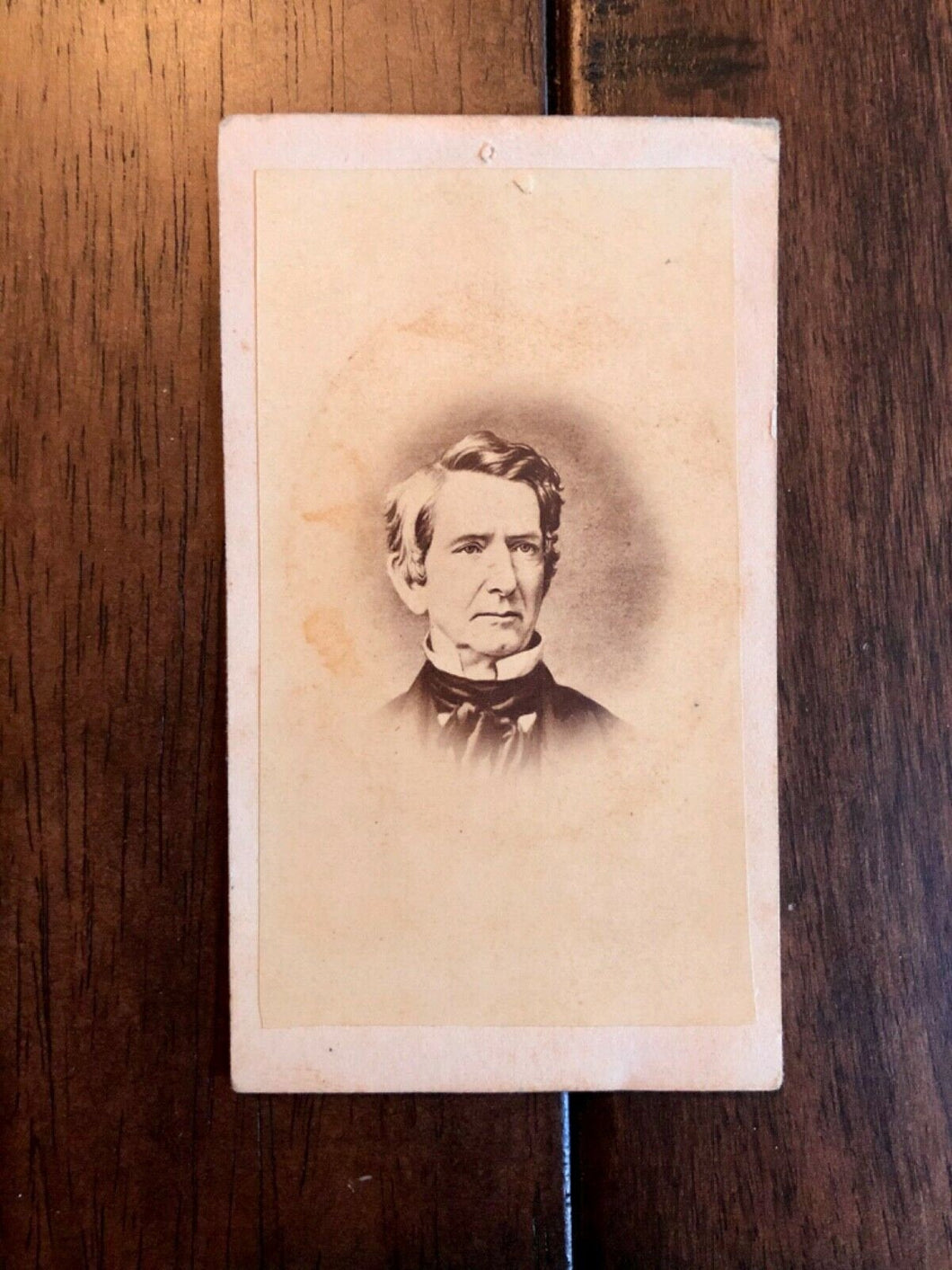1860s CDV Photo William Henry Seward Sec of State under Abraham Lincoln