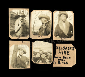 Boys Will Be Girls - Amazing Antique / Vintage Photos Men Dressed As Women, Clothes & Makeup