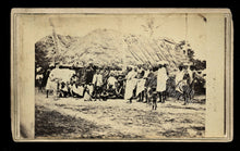 Load image into Gallery viewer, Rare 1860s CDV Photo Explorer with Ethnic Native People - History - Famous?