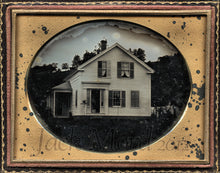 Load image into Gallery viewer, Rare and Beautiful 1850s Daguerreotype Haydenville Massachusetts House - Still Stands!