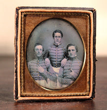 Load image into Gallery viewer, Museum Quality Pre Civil War Daguerreotype of VMI Virginia Military Institute Cadets c1850