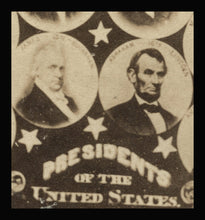 Load image into Gallery viewer, 1860s CDV Presidents of the United States Including Abraham Lincoln & U.S. Grant