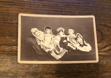 Load image into Gallery viewer, Dolls on Settee - Unusual Antique Photo, 1880s California