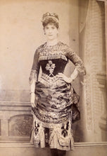 Load image into Gallery viewer, San Francisco Photographer SHEW  Woman In Unusual Ethic? Dress & Hat 1800s Photo