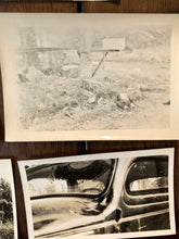 Load image into Gallery viewer, Lot of Vintage Car Accident Photos - Two dead men 1939 Sad & Macabre!