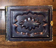Load image into Gallery viewer, Miniature 1860s Leather Album & Some Tiny Tintypes
