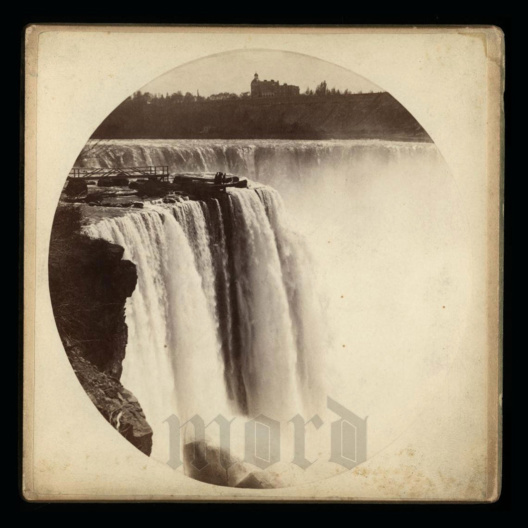 Large Rare Format Cabinet Photo of NIAGARA FALLS - Antique Photo