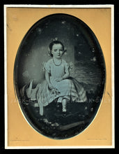 Load image into Gallery viewer, Rare HALF PLATE Daguerreotype of a Painting! By New York Photographer Prudhomme