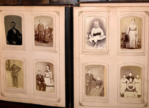 Victorian photo album cabinet cards tintypes CDV Pennsylvania