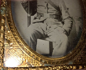 Museum Quality Armed ID'd Confederate Civil War Soldier - 6th FLORIDA Infantry, POW