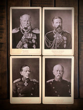 Load image into Gallery viewer, Lot of Antique 1800s German Political Royalty Military Figures 1887