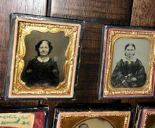 Load image into Gallery viewer, Lot of Antique Photos Ambrotypes Tintypes Daguerreotypes