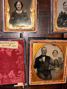Lot of Antique Photos Ambrotypes Tintypes Daguerreotypes
