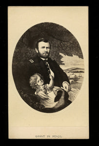 Extra Nice Example Civil War General Grant in Peace - 1860s CDV Photo