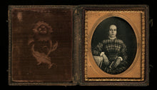Load image into Gallery viewer, Sealed 1/6 Daguerreotype Identified Girl Holding Book Photographer S. Broadbent