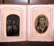 Load image into Gallery viewer, Tintype Photo Album from Tennessee Estate 1860s 1870s