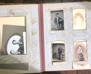 Celluloid Album & Photos with IDs