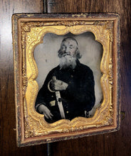 Load image into Gallery viewer, 64 Year Old Confederate ! Armed Civil War Soldier AC Morton Mississippi Cavalry