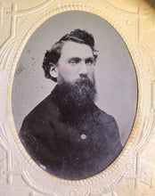 Load image into Gallery viewer, Civil War Era 1860s Tintype Photos Men with Beards Teamsters Or Soldiers ??