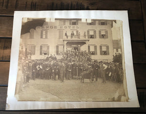 Rare & Historic 1860s Photo Celebration of Emancipation Proclamation Lincoln & Slavery Int