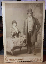 "Load image into Gallery viewer, Sideshow / Circus Freak Cabinet Card Photo ""Turtle Boy"" - Very Rare - Eisenmann"