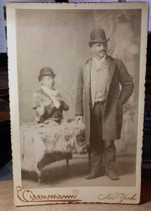"Sideshow / Circus Freak Cabinet Card Photo ""Turtle Boy"" - Very Rare - Eisenmann"