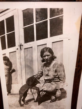 Load image into Gallery viewer, Lot Of Vintage Snapshots People Holding & Playing w Their Pet Dogs 1920s 1930s