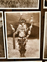 Load image into Gallery viewer, Native American Indian Vintage 1990s Photo Postcard Group Nice Quality 13 Pieces