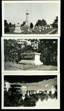Load image into Gallery viewer, Three Vintage Snapshot Photos Lakeview Cemetery South Haven Michigan / Graveyard