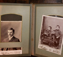 Load image into Gallery viewer, antique album Minnesota cabinet cards and CDV photos antique 1800s
