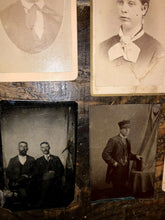 Load image into Gallery viewer, Lot of Tintypes and CDVs - Civil War Tax Stamp