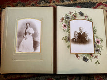 Load image into Gallery viewer, Antique Leather Album 39 Photos Tintypes CDV