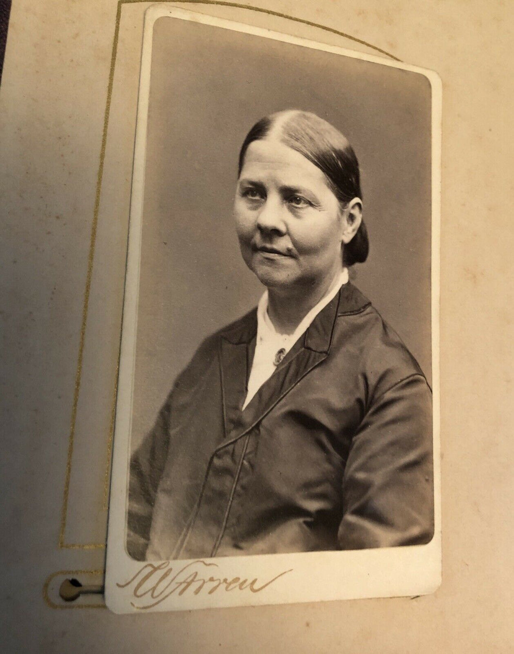Rare Excellent CDV Photo Lucy Stone Women Rights Suffragist Slavery Abolitionist