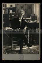 Load image into Gallery viewer, Very Rare Portrait of Famous Author Samuel Clemens / Mark Twain Original Antique Photo