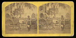 Florida Cracker Stereoview Photo by Wood & Bickel - Reconstruction Era South