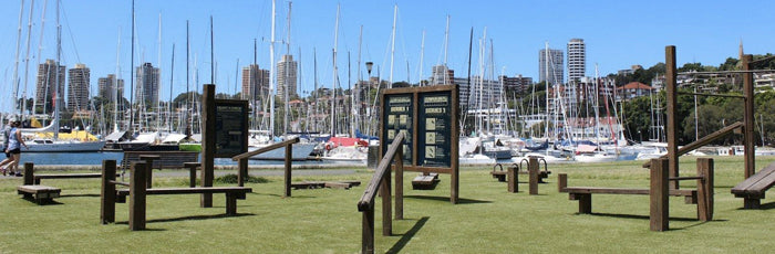Rushcutters Bay Park Outdoor Gym