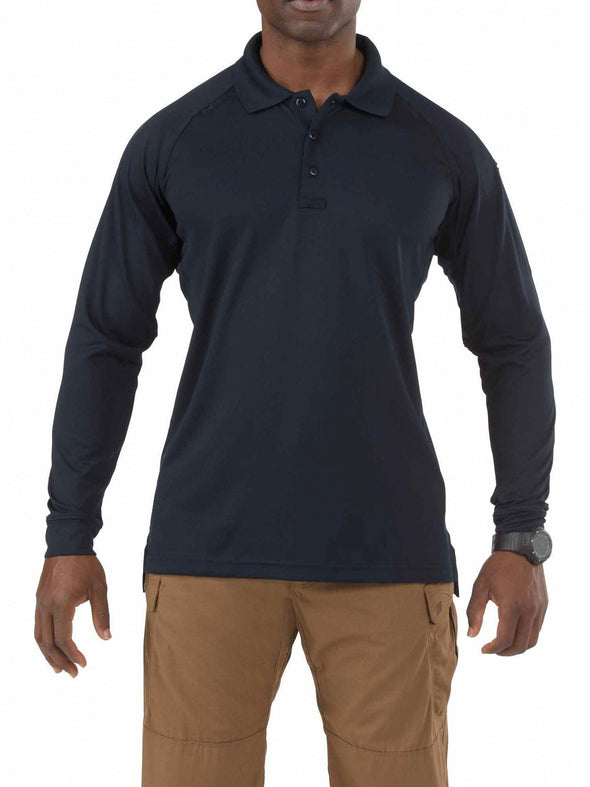 5.11 Tactical Performance Polo Long Sleeve-5.11 Tactical-TacSource