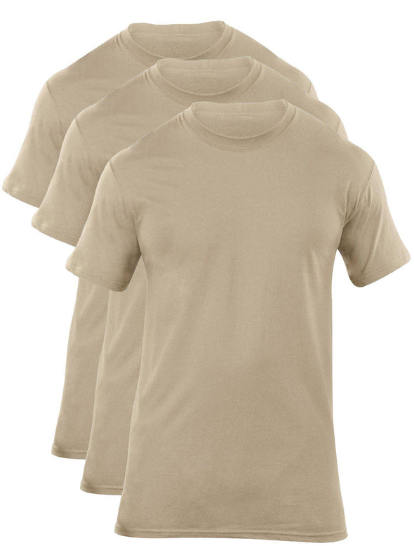 5.11 Tactical Utili-T Crew 3 Pack - Tan-5.11 Tactical-TacSource