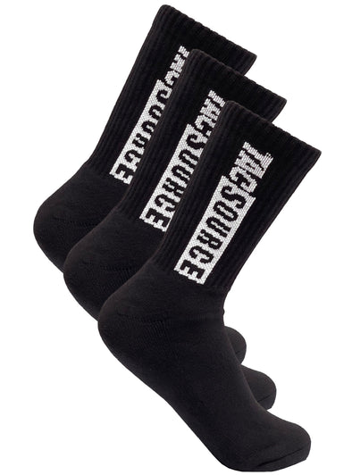 TacSource Duty Socks - 3 Pack