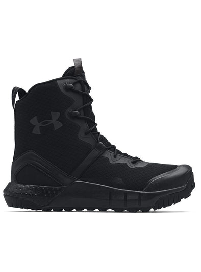 Under Armour Micro G Valsetz Zip - Black-Boots-TacSource